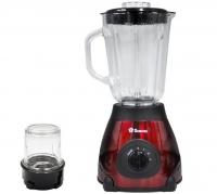Блендер 2 в 1 Domotec MS-6611 с кофемолкой, красный. 48853