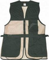 Жилет стрелковый Allen Ace Shooting Vest. Размеры: XL/XXL. Цвет - зеленый/ песчаный. 15680178
