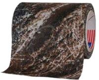 Маскировочная лента Allen Camo Cloth Tape (матерчатая). Размеры - 5 см х 9,15 м. Цвет - Mossy Oak Duck Blind. 15680407