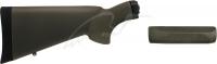 Комплект Hogue OverMolded (приклад + цевье) для Remington 870 кал. 12. Цвет - оливковый. 15680943