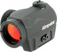 Прицел коллиматорный Aimpoint Micro S-1 6МОА в комплекте с креплением на вент. прицельную планку. 15920026