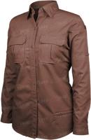 Рубашкa BLACKHAWK! Tactical Shirt. Размер - L. Цвет -тёмно-коричневый. 16490358