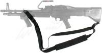 Ремень BLACKHAWK! Swift Machine Gun Sling пулеметный трехточечный. Цвет - черный. 16491213