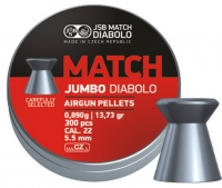 Пули пневматические (для воздушки) 5,5мм 0,89г (300шт) JSB Diabolo Jumbo Match. 14530521