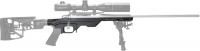 Ложа MDT LSS для карабинов Howa 1500/Weatherby Vanguard Short Action. Материал - алюминий. Цвет - черный. 17280006
