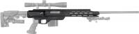 Ложа MDT TAC21 для карабинов Savage (110/111/112/116) Long Action. Материал - алюминий. Цвет - черный. 17280021