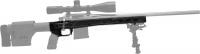Ложа MDT HS3 для карабина Tikka T3 Short Action. Материал - алюминий. Цвет - черный. 17280025