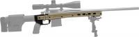 Ложа MDT HS3 для карабина Howa 1500/Weatherby Vanguard Short Action. Материал - алюминий. Цвет - песочный. 17280048