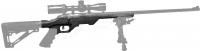 Ложа MDT LSS-22 для винтовок Savage MKII кал. .22LR. Материал - алюминий. Цвет - черный. 17280059