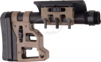 Приклад MDT Skeleton Carbine Stock 9.75''. Материал - алюминий. Цвет - песочный. 17280078
