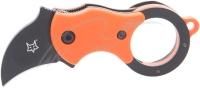Нож Fox Mini-Ka ц: оранжевый. 17530413