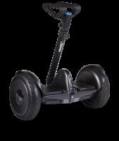 Гироскутер с ручкой для детей и взрослых SNS M1Robot mini PRO telescop (54v) - 10,5 дюймов (Music Edition) Black (Черный). 31206