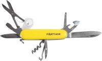 Нож PARTNER HSQ05010PH ц:жёлтый. 17650006