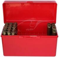 Коробка MTM RM-60 на 60 патронов кал. 222-250 Rem, 243 Win, 7,62x39 и 308 Win. Цвет – красный. 17730472