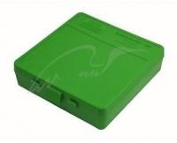 Коробка для патронов MTM кал. 9мм, 380 ACP. Количество - 100 шт. Цвет - зеленый. 17730627