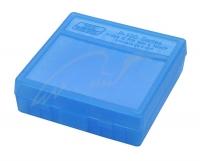 Коробка для патронов MTM кал. 9мм, 380 ACP. Количество - 100 шт. Цвет - голубой. 17730628