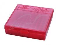 Коробка для патронов MTM кал. 9мм, 380 ACP. Количество - 100 шт. Цвет - красный. 17730629