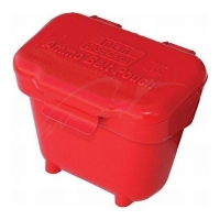 Коробка MTM Ammo Belt Pouch для патронов кал. 22 LR, 22 WMR и 17 HMR с креплением на пояс. Цвет – красный. 17730673