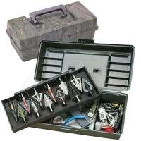 Коробка пластмассовая MTM Broadhead Tacle Box для 12 наконечников стрел и прочих комплектующих. Размеры – 30х13х10 см. Цвет – камуфляж. 17730678