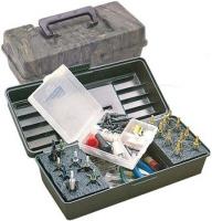 Коробка пластмассовая MTM Magnum Broadhead Box для 20 наконечников стрел и прочих комплектующих. Размеры – 30х13х10 см. Цвет – камуфляж. 17730683