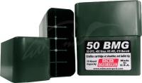 Коробка MTM 50 BMG Slip-Top на 10 патронов кал. 50 BMG. Цвет - темно-зеленый. 17730856