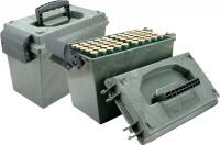 Коробка MTM Shotshell Dry Box на 100 патронов кал. 20/76. Цвет – камуфляж. 17730867