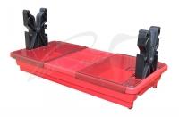 Подставка портативная MTM Portable Rifle Maintenance Center для чистки оружия (с органайзером). Цвет - красный. 17730873