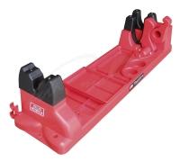 Подставка MTM Gun Vise для чистки оружия (с органайзером). Цвет - красный. 17730874