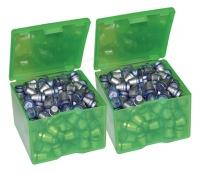 Коробка для пуль MTM Cast Bullet Box (8,6х8,6х6,3 см) (2 шт). Цвет - зеленый. 17730883