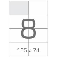 Этикетка самоклеящаяся Tama 105х74 (8 на листі) с/кл (100листів) (17791). 45833