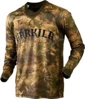 Футболка Harkila Lynx. Размер - XL. Цвет - Axis MSP&Forest Green. 17800536