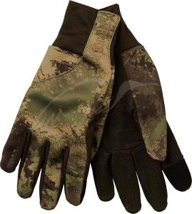 Перчатки Harkila Lynx fleece. Размер - L. Цвет - Axis MSP&Forest Green. 17800539