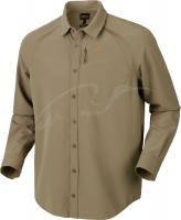 Рубашка Harkila Herlet Tech. Размер - XL. Цвет - светлый хаки. 17800554