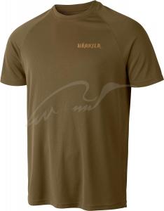 Футболка Harkila Herlet Tech. Размер - XL. Цвет - светлый хаки. 17800571