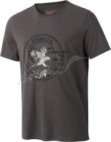 Футболка Harkila Wildlife Eagle. Размер - XL. Цвет - серый. 17800591