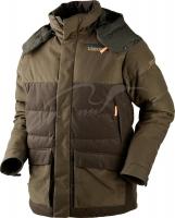 Куртка Harkila Expedition down. Размер - 58. Цвет - зелёный/коричневый. 17800637