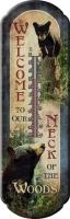 Термометр Riversedge Bear Tin Thermometer 43*17 см. 18350085