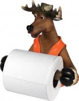 Держатель д/туал.бумаги Riversedge Deer Toilet Paper Holder. 18350104