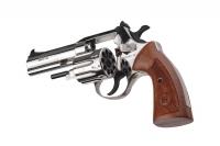 Револьвер под патрон Флобера Alfa mod.441 Classic никель/дерево. 14310050