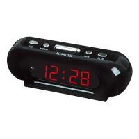 Часы сетевые VST-716-1 красные, 220V. 32819