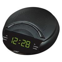 Часы сетевые VST-903-2 зеленые, радио FM, 220V. 32861
