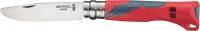 Нож Opinel №7 Outdoor Junior. Цвет - красный. 2046357