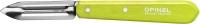 Нож Opinel Peeler №115 Inox. Цвет - салатовый. 2046580