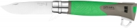 Нож Opinel №12 Explore зеленый. 2046587