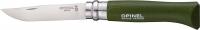 Нож Opinel №8 Inox зеленый (блистер). 2046595