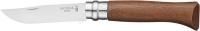 Нож Opinel №8 Inox. Рукоять - орех. 2046599