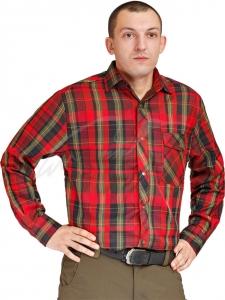 Рубашка Hallyard Lopez-001 2XL. Цвет - красный. 23240614