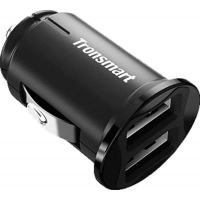 Зарядное устройство Tronsmart C24 Dual USB Port Car Charger Black (236876). 44954
