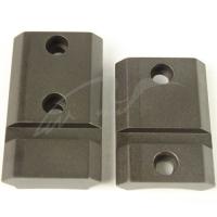 Планка раздельная Warne MAXIMA 2-Piece Steel Rail (Weaver/ Picatinny) для карабина Remington 700/Sauer S101/Haenel Jaeger 10 с длинной или короткой ствольной коробкой (Long/ Short Action). Сталь. 23700202