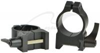 Кольцa быстросъемные Warne MAXIMA Quick Detach Rings. Диаметр - 25.4 мм. Высота основания - 9.5 мм. Под планку Weaver/ Picatinny. 23700208